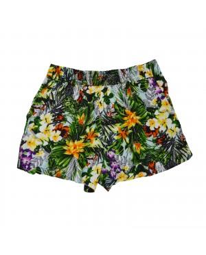 Shorts Florido Viscose